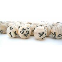 Coleção De 75 Bolas Para Bingo Nº 1