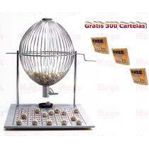 Bingo Completo Globo Nº3 Zincado + 300 Cartelas Grátis