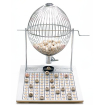 Víspora Nº 3 (100 Bolas) Bingo Profissional Completo Grande