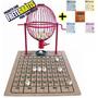 Bingo Completo Vermelho Nº 2 + 500 Cartelas + Frete Grátis!