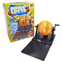 Jogo De Bingo Lotto Globo À Manivela 48 Cartelas (11746)