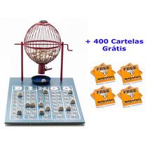 Jogo De Bingo 75 Bolas Médio Nº2 Com 400 Cartelas Iv
