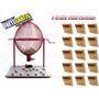 Bingo Completo Globo Nº3 Vermelho + 1500 Cartelas+ Frete Gr