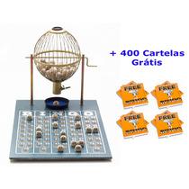 Jogo De Bingo 75 Bolas Médio Nº2 Com 400 Cartelas Iza
