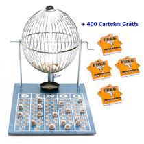 Jogo De Bingo 75 Bolas Grande Nº3 Com 400 Cartelas Ic