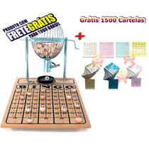 Bingo Completo Globo Nº1 + 1500 Cartelas Coloridas +frete C