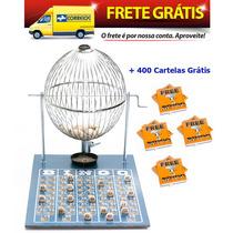 Jogo De Bingo 75 Bolas Grande Nº3 Com 400 Cartelas Izf