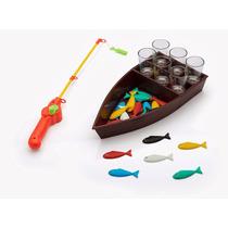 Jogo De Pesca Com Bebida - Tá Com Sede? Vai Pescar! 44cm