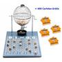 Jogo De Bingo 75 Bolas Médio Nº2 Com 400 Cartelas Iz