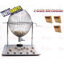Bingo Completo Globo Nº3 Zincado + 300 Cartelas+ Frete Grá