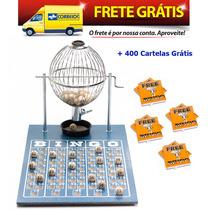 Jogo De Bingo 75 Bolas Médio Nº2 Com 400 Cartelas Izf