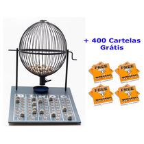 Jogo De Bingo 75 Bolas Grande Nº3 Com 400 Cartelas Ip