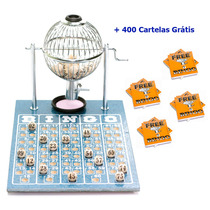Jogo De Bingo 75 Bolas Profissional Pequeno Nº1 Ic
