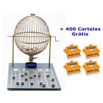 Jogo De Bingo 75 Bolas Grande Nº3 Com 400 Cartelas Iza