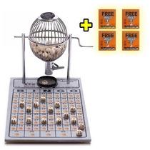 Bingo Completo Globo Nº 1 Zincado + 400 Cartelas Grátis!