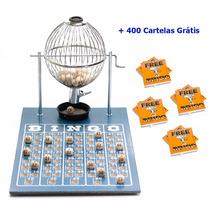 Jogo De Bingo 75 Bolas Médio Nº2 Com 400 Cartelas Ic