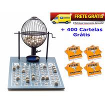 Jogo De Bingo 75 Bolas Médio Nº2 Com 400 Cartelas Ipf