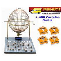 Jogo De Bingo 75 Bolas Grande Nº3 Com 400 Cartelas Izaf
