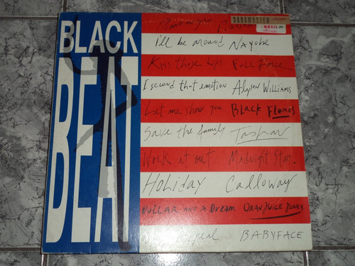 Black Beat Lp Coletanea - 1989