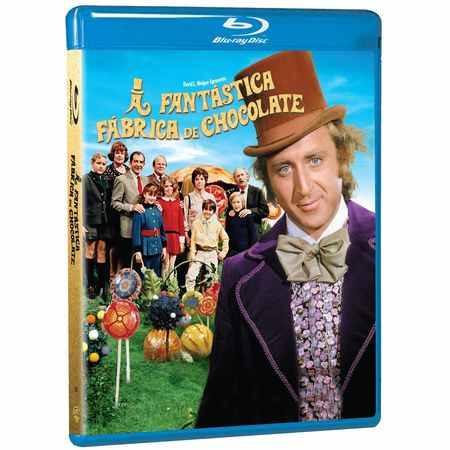 Blu-ray A Fantastica Fabrica De Chocolate - Lacrado