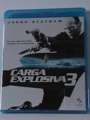 Blu-ray - Carga Explosiva 3 - (lacrado)