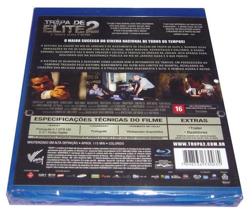 Blu Ray Tropa De Elite 2 O Inimigo Agora É Outro
