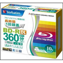 10 + 1 Bluray Verbatim 50 Gb Dl Bd-r Blu-ray Original