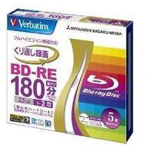 Bluray Regravável Verbatim 50 Gb Bd-re Blu-ray Rw Dual Layer