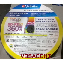 Blu-ray Bd-re Dl Dual Layer Printable Verbatim 1-2x 50gb