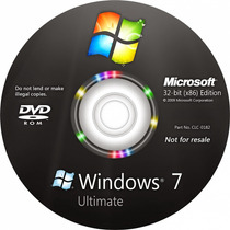 Cd Windows 7 Ultimate+offce 2010