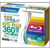 Bluray Verbatim 50gb Original Blu-ray Dual Layer Dl
