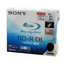 10 Mídias Blue Ray Sony Bd-r 50gb. Originais