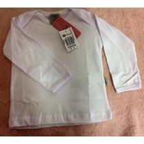 Camiseta Hering Baby Unissex Branca Básica Muito Barata
