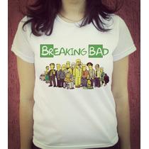 Babylook Camiseta Estampada - Breaking Bad