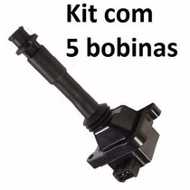 5 Bobinas De Ignição Para O Fiat Marea 2.0 20v Todos Modelos