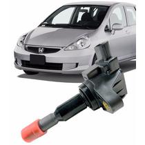 Bobina Ignição Honda Fit 1.5 16v Todos Anos Nova Cm11110