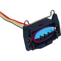 Conector/chicote/plug Bobina Ignição 3 Fios Fiesta Courrier