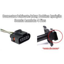 Conector/chicote/plug Bobina Ignição 4 Fios Vw Golf