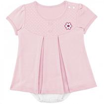 Body Para Bebê Vestido Florzinha Menina Tip Top - 4babies