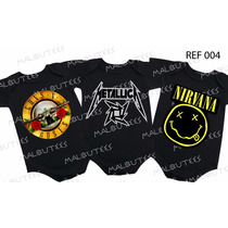 Body Rock Metallica Nirvana Guns Ramones Acdc Iron Maiden