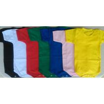 Body Liso Infantil Patchwork Transfer Silk Colorido Atacado