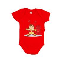 Body Infantil Personalizado Chapolin Baby Desenho Engraçado