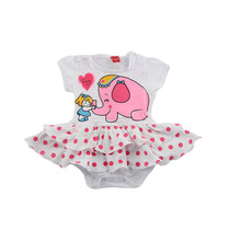 Body Vestido Bebê Poá Tam.p,m,gg Get Baby Frete Grátis