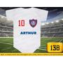 Body Ou Camiseta Times San Lorenzo Argentina Personalizado