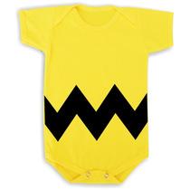 Body / Camiseta Charlie Brow - Snoopy - Cachorro