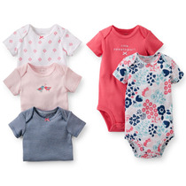 Carters Kit 5 Bodys New Collection Menino Rn A 24m......