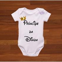 Body Infantil Príncipe Da Dinda