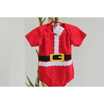 Body De Natal Infantil Com Estampas Divertidas Bebê Noel