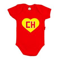 Body Personalizado Bebê Infantil Chapolin Colorado Polegar