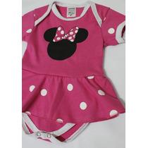 Body Minnie Bebê Festa De Mesversário Mickey